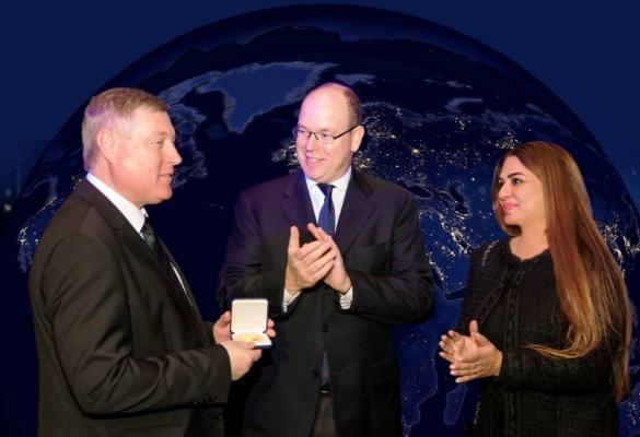 """Exposition conférence """"Espace: nouvelles frontières pour la paix"""""""